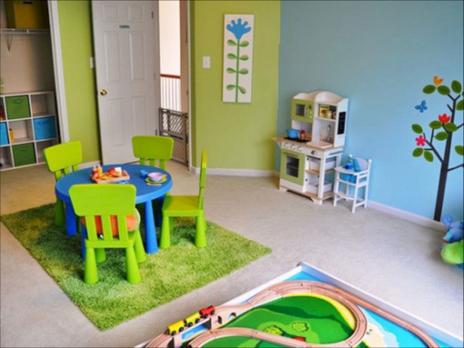 Kids Playroom Paint Color Ideas