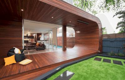 Outdoor Wood Patio Deck Designs