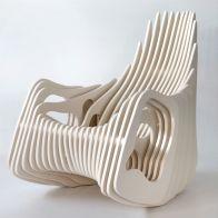 Plywood Rocking Chair