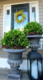 Spring Front Porch Planter
