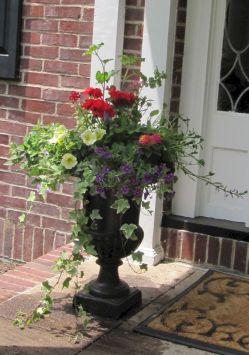 Summer Front Porch Planters