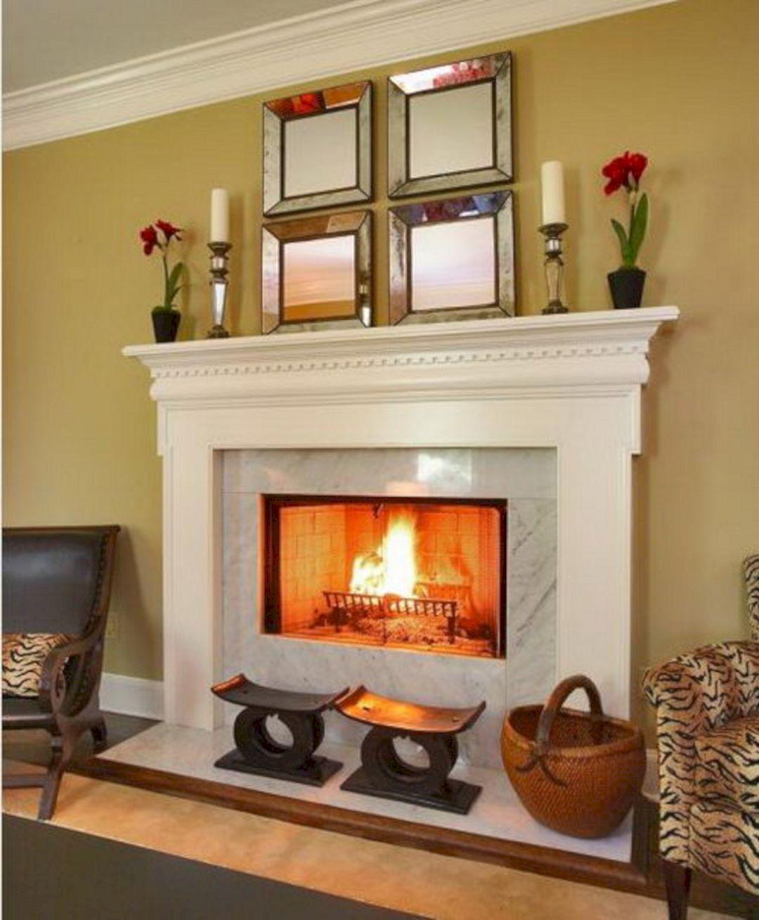 Best 30+ Super Beautiful Marbel Fireplace Mantel Design Ideas for Inspiration – DECOREDO