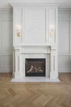 Wainscoting Fireplace Surround