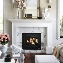 White Fireplace Mantel Ideas