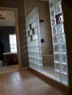 Bathroom Glass Block Shower Ideas 10