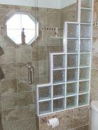 Bathroom Glass Block Shower Ideas 16