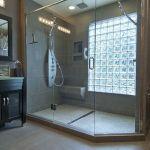 Bathroom Glass Block Shower Ideas 18