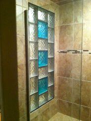 Bathroom Glass Block Shower Ideas 7