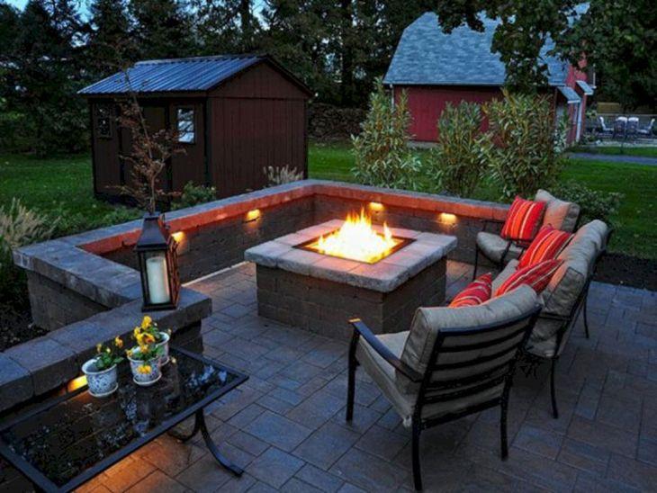 Best Backyard Firepit Ideas 16