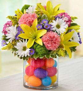 Easter Flower Arrangements As Your Table Decoration 114