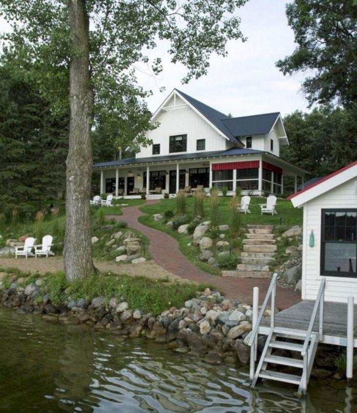 Farmhouse Exterior Design 29