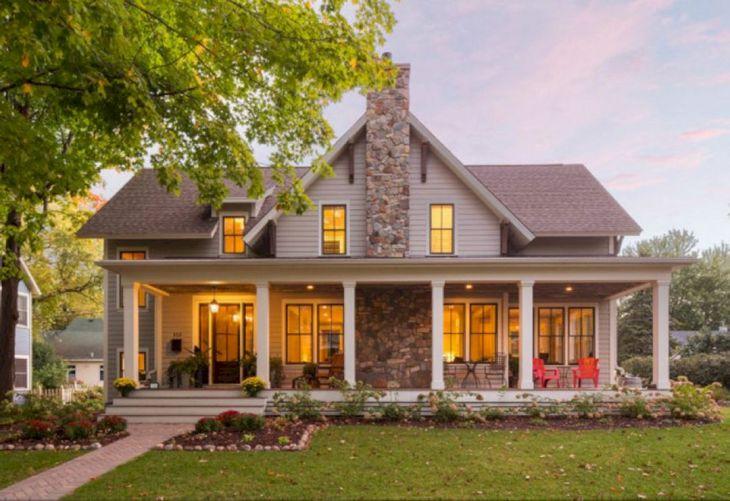 Farmhouse Exterior Design 6