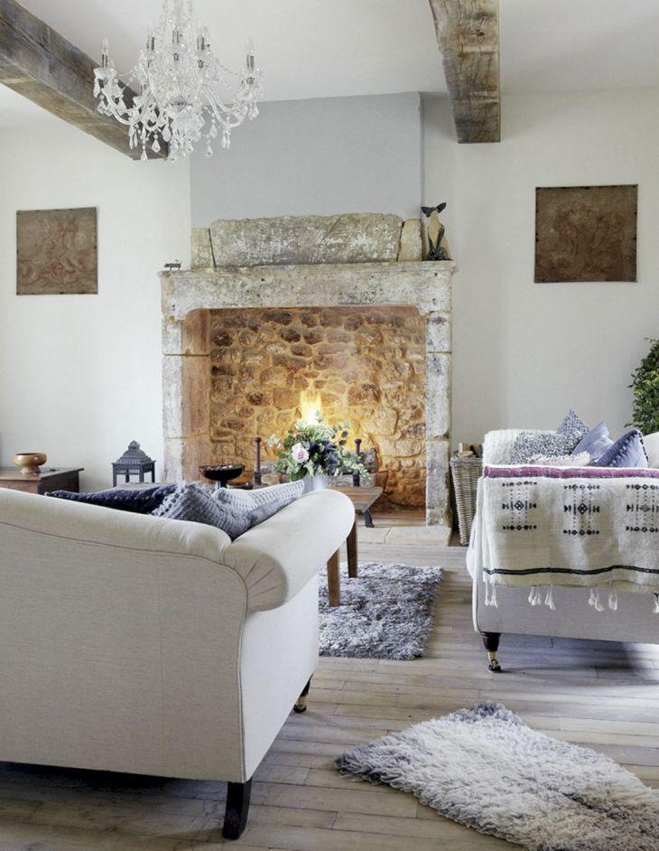 Farmhouse Living Room Fireplace 19