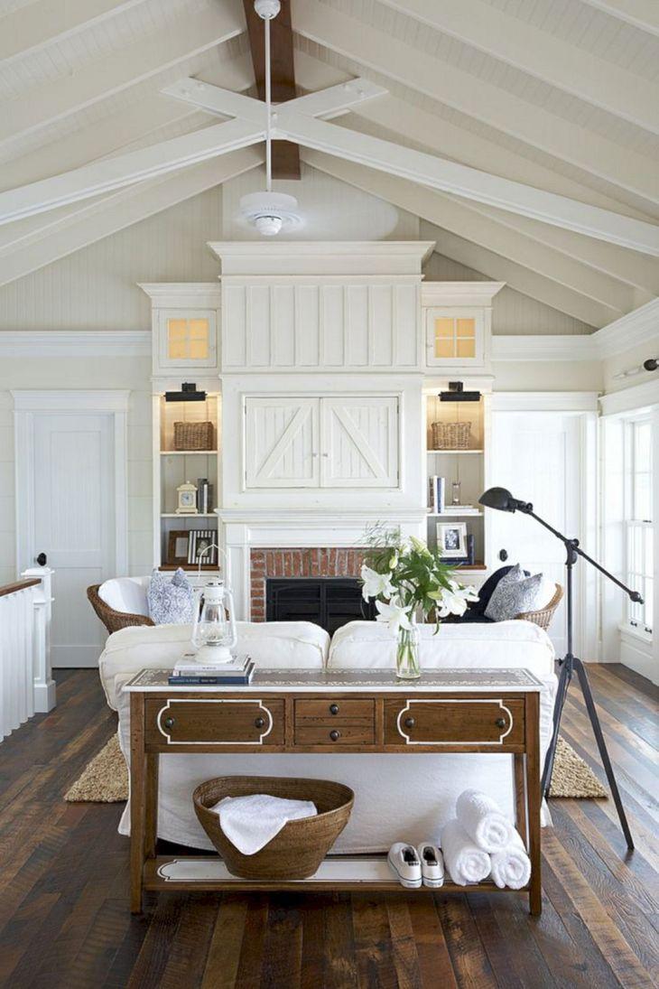 Farmhouse Living Room Fireplace 21
