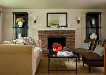 Farmhouse Living Room Fireplace 22