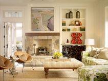 Farmhouse Living Room Fireplace 29