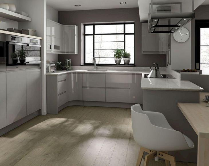 Gray Kitchen Ideas 219