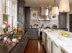 Gray Kitchen Ideas 23