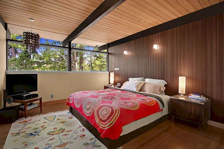 Modern Mid Century Bedroom Decor Ideas 16