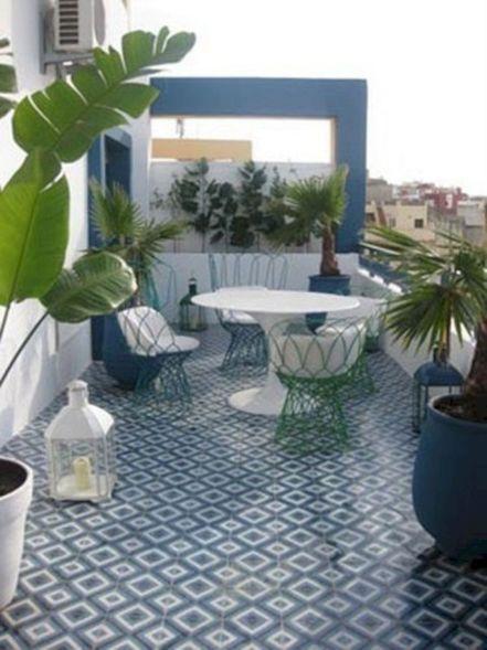 Moroccan Balcony Design Ideas 14