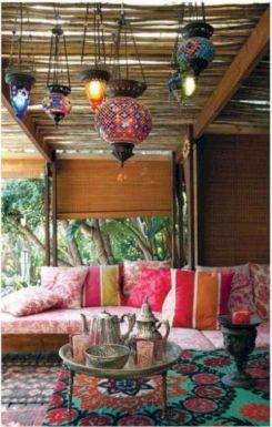 Moroccan Balcony Design Ideas 25