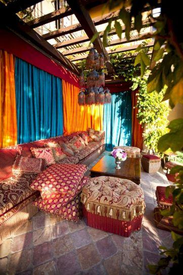 Moroccan Balcony Design Ideas 27