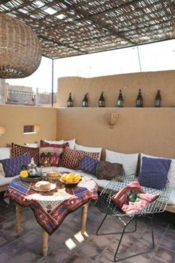 Moroccan Balcony Design Ideas 6