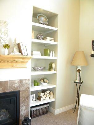 Simple Living Shelving Ideas 26