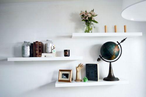 Simple Living Shelving Ideas 4