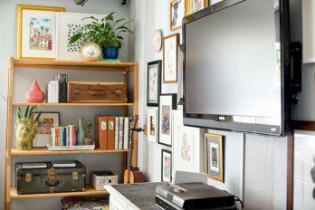 Simple Living Shelving Ideas 9