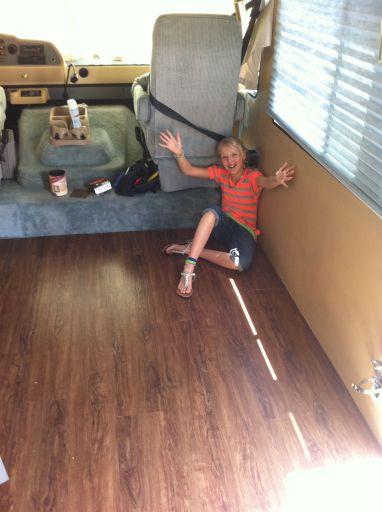 Wooden Flooring Ideas for RV 118