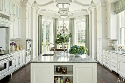 Classic White Kitchen Cabinets 13
