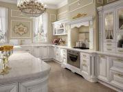 Classic White Kitchen Cabinets 17