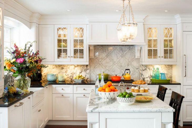 Classic White Kitchen Cabinets 3
