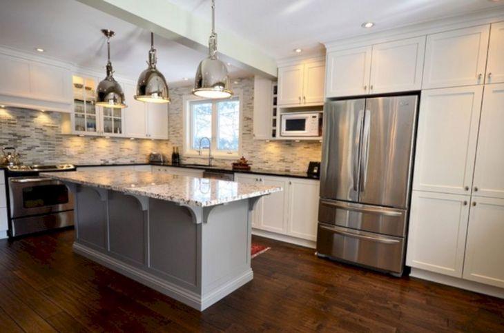Classic White Kitchen Cabinets 4