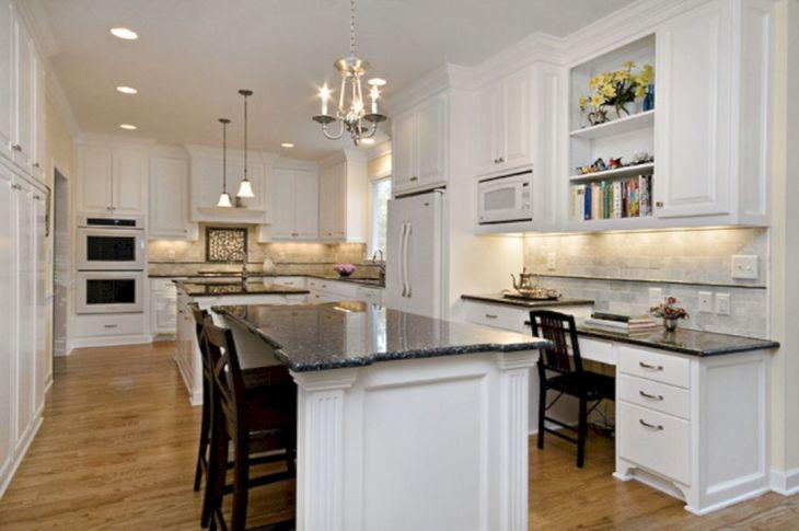 Classic White Kitchen Cabinets 5