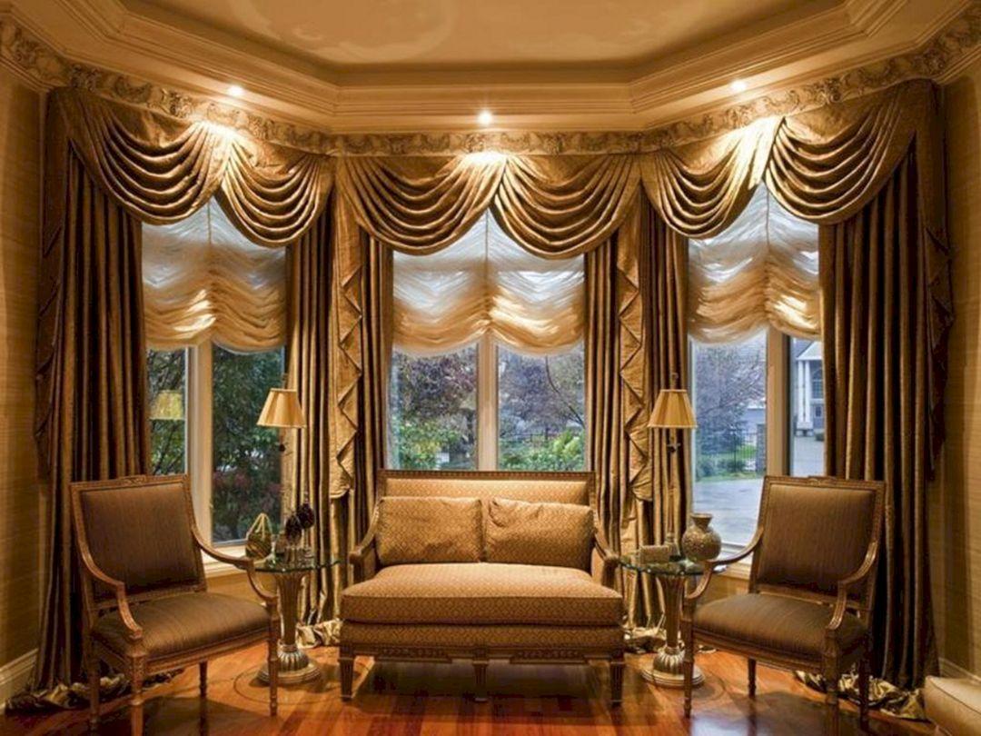Living Room Curtain with Valance Ideas 1 – DECOREDO