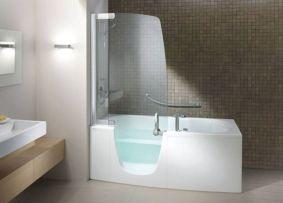Modern Bath Shower Combination 18