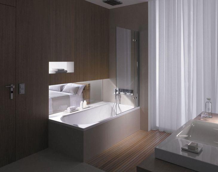 Modern Bath Shower Combination 22