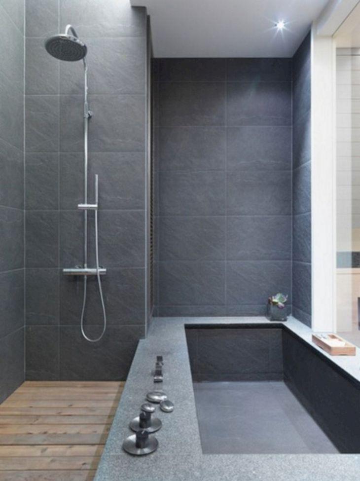 Modern Bath Shower Combination 28