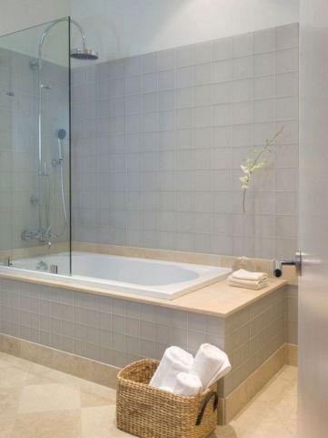Modern Bath Shower Combination 29