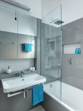 Modern Bath Shower Combination 3