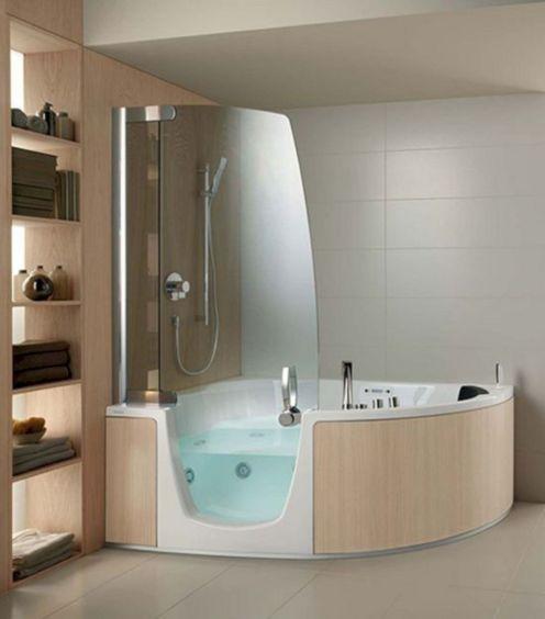 Modern Bath Shower Combination 5