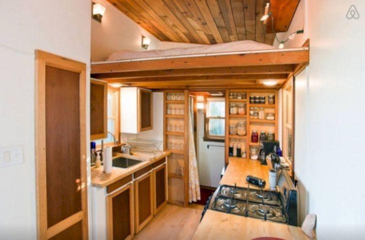 Modern Tiny House Interior 12