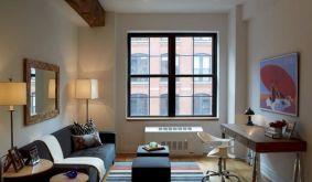Small One Room Apartment Interior 20