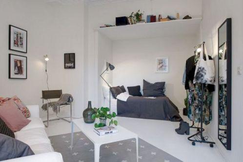 Small One Room Apartment Interior 4