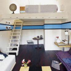 Small One Room Apartment Interior 7