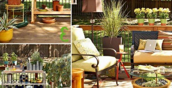 Small Outdoor Garden Decor Ideas 15