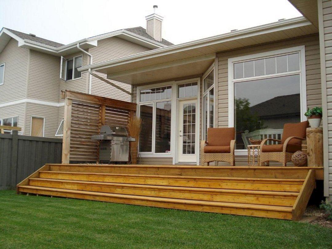 Small Wooden Deck Remodel Ideas 127 - DECOREDO on Patio Renovation Ideas id=57170