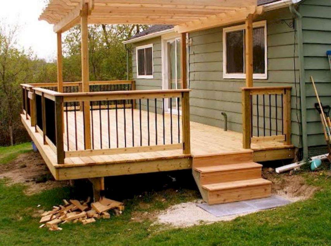 Small Wooden Deck Remodel Ideas 15 - DECOREDO on Patio Renovation Ideas id=66456